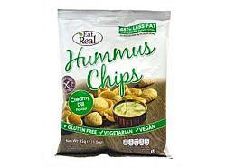 Eat Real csicseriborsó chips, tejszínes-kapros, 40 g