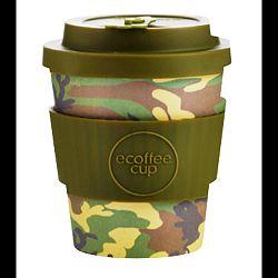 Ecoffee Cup Hordozható Kávéspohár - Mike & Eric, 240 ml