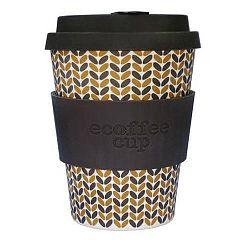 Ecoffee Cup Hordozható Kávéspohár - Threadneedle, 340 ml