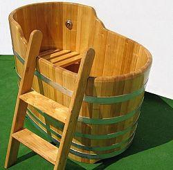 Fa fürdőkád sóterápiához