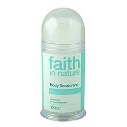 Faith in Nature sókristály dezodor, 100 g