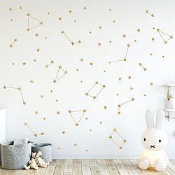 Falmatricák - arany csillagok