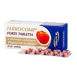 Ferrocomp Forte vas tabletta, 40 db
