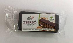 Free Bakery Gluténmentes zabszelet étcsoki bevonattal, zserbó, 50g