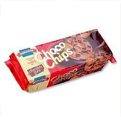 Gullón cukormentes csokidarabos keksz, 125 g