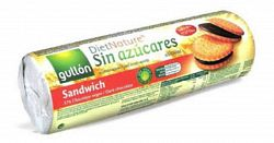 Gullón cukormentes étcsokis szendvicskeksz, 250 g