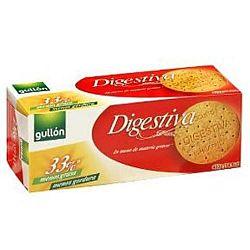 Gullón Digestive zabpelyhes korpás keksz étcsokoládé darabokkal, 425 g