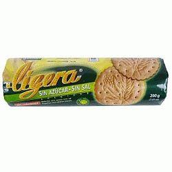 Gullón só- és cukormentes Ligera keksz, 200 g