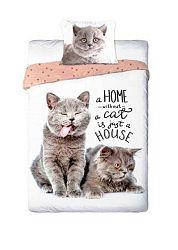 Gyerek ágynemű Cat Home