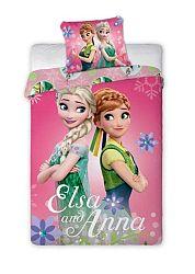 Gyerek ágynemű Frozen Elsa és Anna