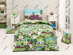 Gyerek ágyneműhuzat - falusi élet
