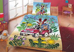 Gyerek ágyneműhuzat - kisvakond az autóban