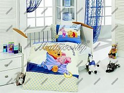 Gyerek ágynemű - Micimackó blue
