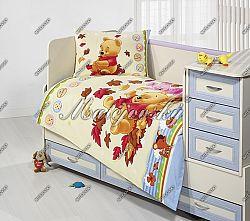 Gyerek ágynemű Micimackó - ősz