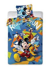 Gyerek ágynemű Mickey Mouse Fun