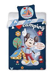 Gyerek ágynemű Mickey Mouse kemping