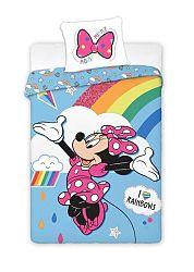 Gyerek ágynemű Minnie Mouse Rainbow