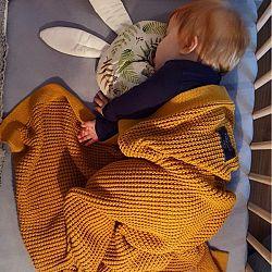 Gyerek bambusz / pamut takaró - különböző színek