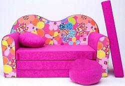 Gyerek kanapé - virágocskák