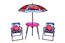 Gyerek kerti bútor szett - Verdák - kék-piros
