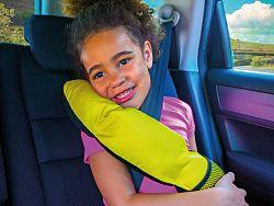 Gyerek utazó párna - csiga