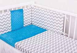 Gyermek ágyneműhuzat - cikcakk - 120x90 cm