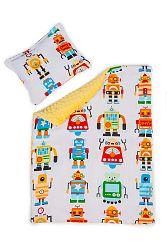 Gyermekek takaró és párna L Robotok