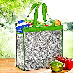 Hűtőtáska 2 az 1-ben - zöld színben