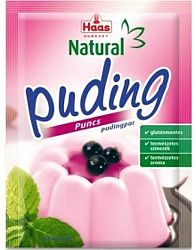 Haas Natural puding, 40 g - puncsos