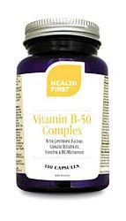 Health First B50 Complex 50-es keverék B vitaminokból, 100 db ka