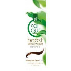 Henna színmegújító sampon, meleg barna - 200 ml