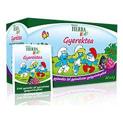 Herbária Herba Kids gyümölcstea gyermekeknek erdei gyümölcs ízben, 20 filter