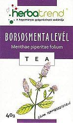 Herbatrend borsmentalevél gyógynövénytea, 40 g