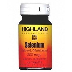 Highland Selenium tabletta, 100 db