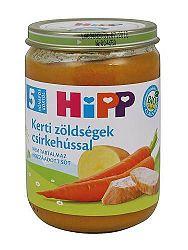 Hipp bébiétel, kerti zöldségek csirkehússal, 190 g