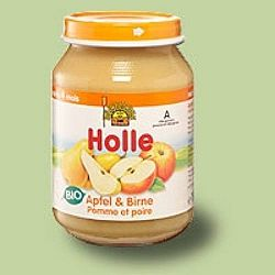 Holle bio bébiétel, alma-körte 190 g