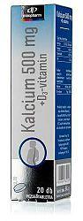 InnoPharm Calcium + D3-vitamin pezsgőtabletta, 20 db
