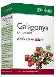 Interherb galagonya extraktum kapszula, 30 db - A szív egészségéért