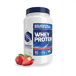 Inventor Nutrition Whey Protein Concentrate, 960 g - Eper ízű