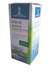 Izlandi zuzmó köhögés elleni szirup, 100 ml