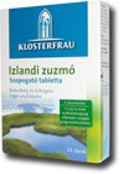 Izlandi zuzmó szopogató tabletta, 24 db