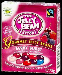 Jelly Bean gluténmentes cukorka erdei gyümölcs ízben, 75 g