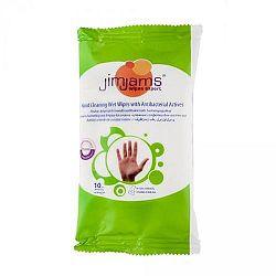 JimJams mini nedves kéztisztító törlőkendő, 10 db/csomag