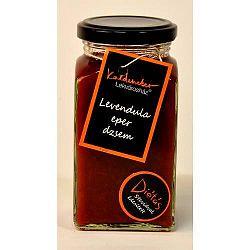 Kaldeneker levendulás eperdzsem, steviával édesített, 312 ml