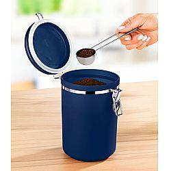 Kávétároló doboz - kék