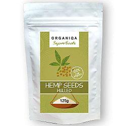 Kendermag (Cannabis sativa) 100% bio, hántolt, 125 g, Organiqa