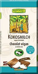 Kókusztejes csokoládé kókuszvirág cukorral, vegán, 80 g