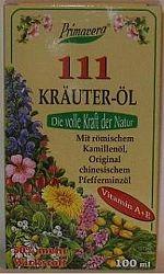 Krauter-Öl 111 gyógynövényolaj, 100 ml