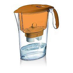 Laica Clear Line vízszűrő kancsó+1 filter, narancs