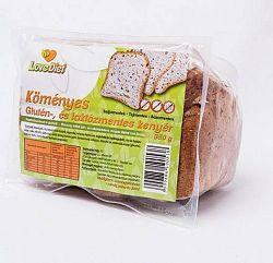 Love Diet Glutén- és laktózmentes köményes kenyér 350 g
